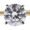 2.02 ct. Round Cut Solitaire Ring, I, SI1 #1