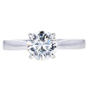 1.50 ct. Round Cut Solitaire Ring, I, SI2 #3
