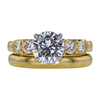 1.76 ct. Round Cut Bridal Set Ring, D, VVS2 #1