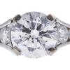 1.5 ct. Round Cut Bridal Set Ring, F, SI1 #4