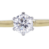 0.87 ct. Round Cut Solitaire Ring #3