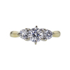0.64 ct. Round Cut Solitaire Ring, F, SI1 #3