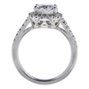 1.43 ct. Round Cut Bridal Set Ring, E-F, I1 #3