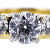 0.97 ct. Round Cut Bridal Set Ring #4