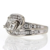 1.01 ct. Cushion Cut Solitaire Ring #4