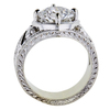 2.15 ct. Round Cut Solitaire Ring, D, VS2 #2