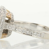 2.02 ct. Princess Cut Bridal Set Ring #4