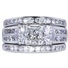 1.01 ct. Princess Cut Bridal Set Ring, G, SI1 #3
