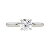 1.00 ct. Round Cut Solitaire Ring, J, SI1 #3