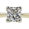 1.03 ct. Princess Cut Solitaire Ring, G, SI1 #4