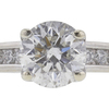 1.46 ct. Round Cut Solitaire Ring, G, I1 #4