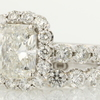 2.10 ct. Radiant Cut Bridal Set Ring #3