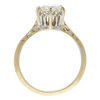 1.18 ct. Round Cut Solitaire Ring, J, I1 #4