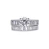 1.43 ct. Round Cut Bridal Set Ring, H, SI1 #3