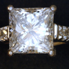 1.53 ct. Princess Cut Bridal Set Ring #3