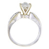 0.96 ct. Heart Cut Solitaire Ring, H-I, SI2-I1 #3