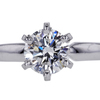1.23 ct. Round Cut Solitaire Ring #1