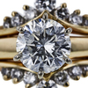 2.15 ct. Round Cut Bridal Set Ring, G-H, I1-I2 #3