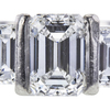 1.51 ct. Emerald Cut 3 Stone Ring, F, VS1 #4