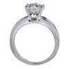 1.39 ct. Heart Cut Bridal Set Ring, H, SI2 #4