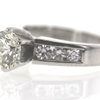 1.25 ct. Round Cut Bridal Set Ring #4