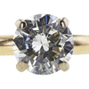 1.20 ct. Round Cut Bridal Set Ring, L, SI2 #4