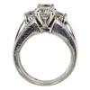 0.8 ct. Round Cut Bridal Set Ring, H, I1 #4