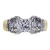 1.50 ct. Princess Cut Solitaire Ring, F, VS2 #2