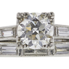 0.78 ct. Round Cut Bridal Set Ring, H, VS2 #4