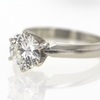 1.10 ct. Round Cut Solitaire Ring #4