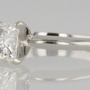 1.28 ct. Princess Cut Solitaire Ring #2