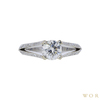 1.00 ct. Round Cut Solitaire Ring, I-J, SI1-SI2 #2