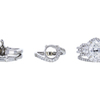 1.75 ct. Oval Cut Bridal Set Ring, G, SI1 #2