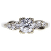 0.63 ct. Round Cut Ring, G-H, VS1 #1