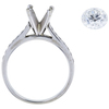 1.54 ct. Round Cut Solitaire Ring, G, SI2 #4