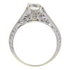 0.9 ct. Round Cut Solitaire Ring, J, SI1 #4
