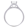 0.86 ct. Princess Cut Solitaire Ring, G, VS2 #4