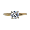 1.11 ct. Round Cut Solitaire Ring, J, SI1 #2
