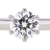 0.71 ct. Round Cut Solitaire Tiffany & Co. Ring, H, VS1 #1