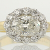 1.33 ct. Oval Cut Halo Ring #1