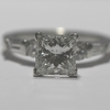 1.84 ct. Princess Cut Solitaire Ring #1