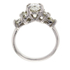 1.33 ct. Oval Cut Central Cluster Ring #2
