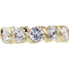 0.46 ct. Round Cut Central Cluster Ring, I, VS1 #3