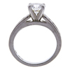 1.12 ct. Round Cut Bridal Set Ring, H, VS2 #3