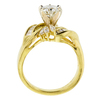 1.07 ct. Round Cut Right Hand Ring, J, I1 #3