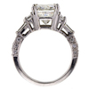 4.02 ct. Radiant Cut Solitaire Ring #3