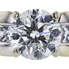 1.50 ct. Round Cut Bridal Set Ring, J, I2 #4