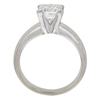 2.07 ct. Princess Cut Solitaire Ring, D, SI1 #3