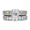 1.01 ct. Oval Cut Bridal Set Ring, I, VVS2 #3