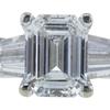 1.53 ct. Emerald Cut Ring, F, VS2 #4